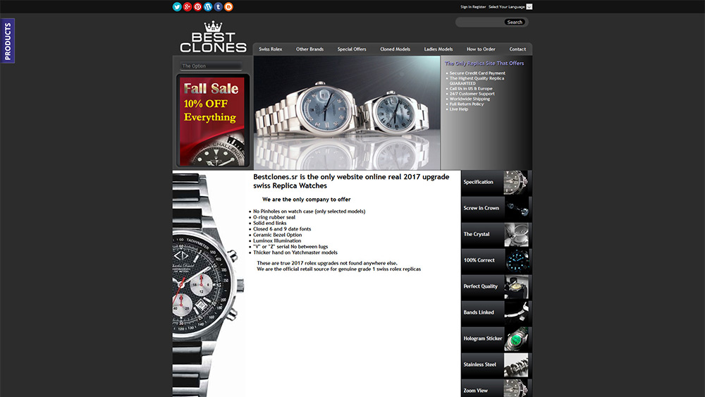 b1fc4be8ff4 Bestclones.sr - Replica Watch Site Review
